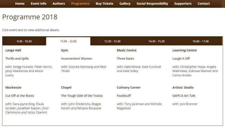 programme 11-12